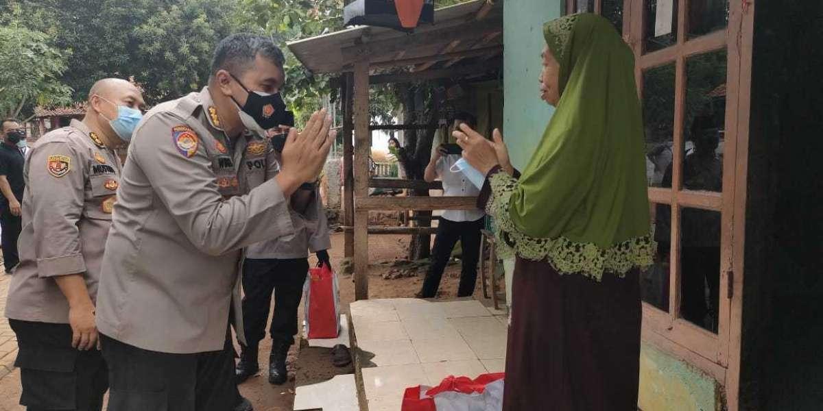 Akabri 1996 di Banten, Salurkan Bansos Langsung Kerumah Warga