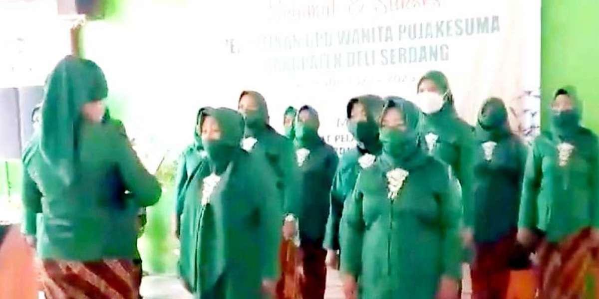 Ketua Harian DPW Wanita Pujakesuma Sumut Lantik  DPD Wanita Pujakesuma Deli Serdang