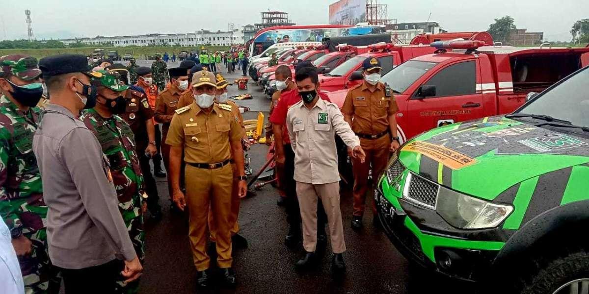 KSJ Sumut Peserta Apel Gelar Pasukan Penanggulangan Bencana Daerah Diapresiasi Gubsu