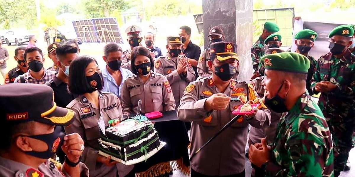 Kapolres Batu Bara AKBP Ikhwan Lubis Serbu Batalyon 126/ KC. Sei. Balai Bersama  Anggotanya
